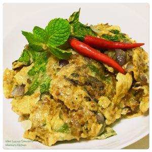 mint-leaves-omelette