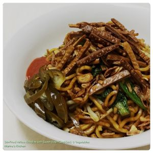 stir-fried-yellow-noodles-with-sweet-bean-curd-stick-vegetables