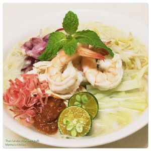 thai-kerabu-rice-vermicelli
