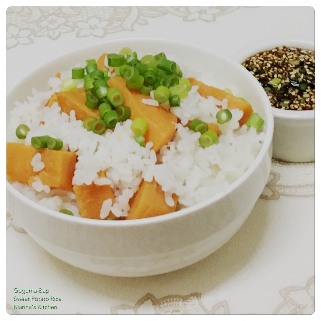 Goguma-Bap (Sweet Potato Rice)
