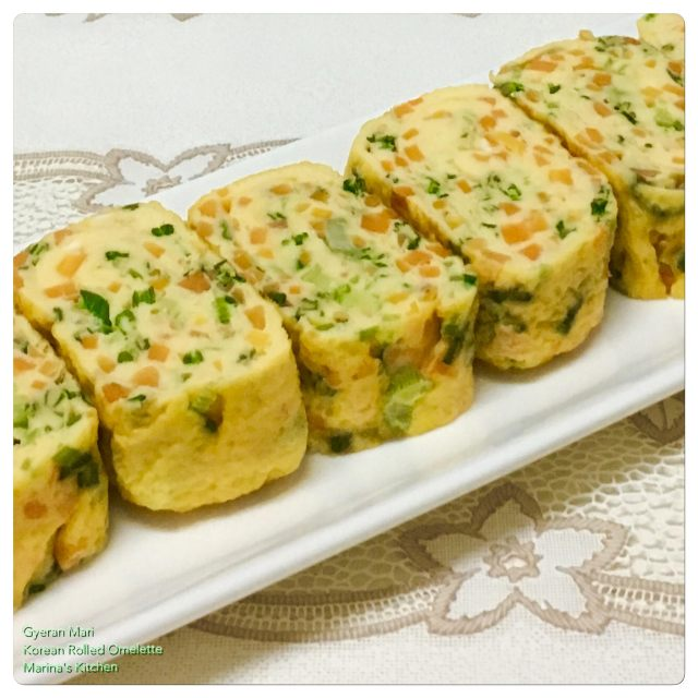 Gyeran Mari (Korean Rolled Omelette)