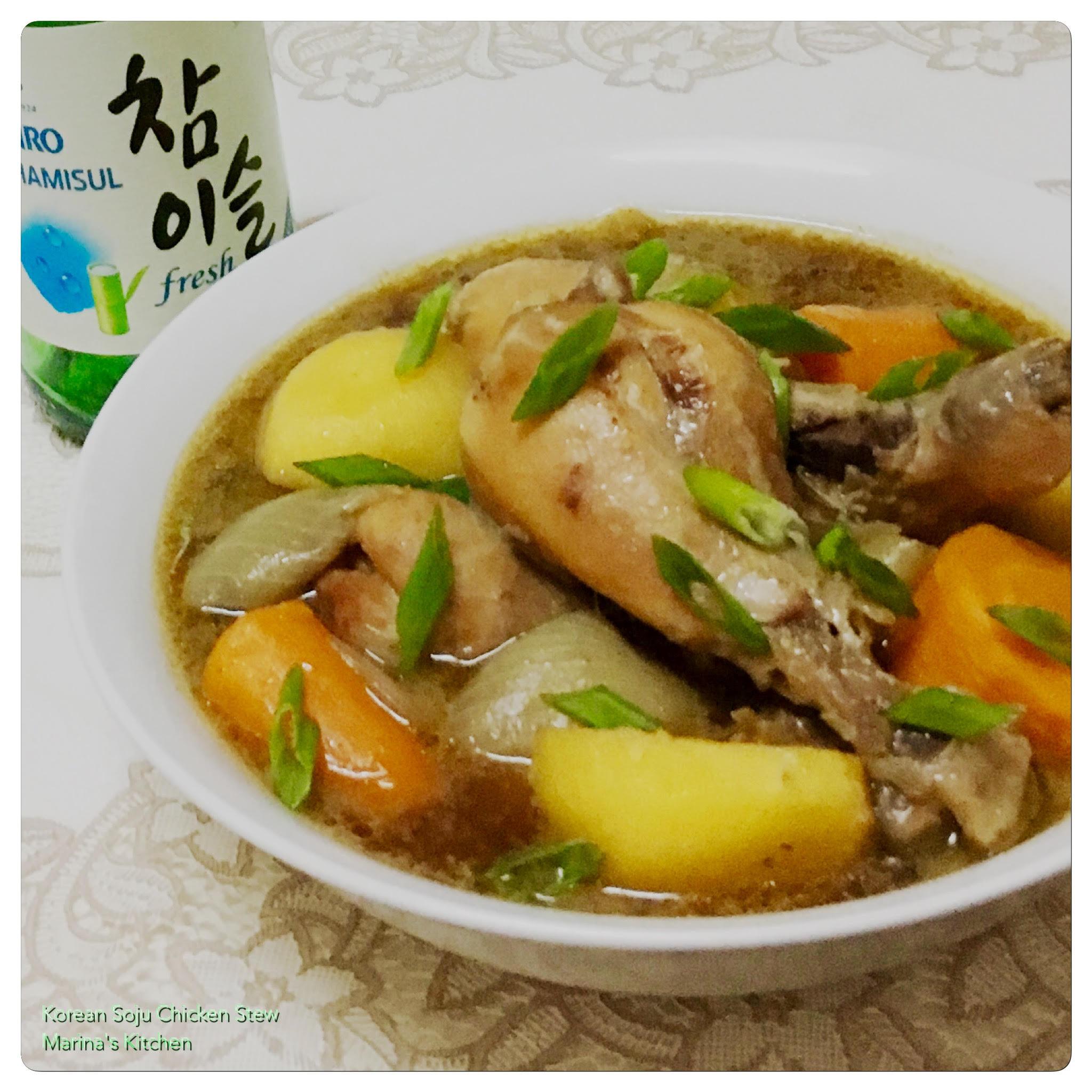 how to make korean chicken stew