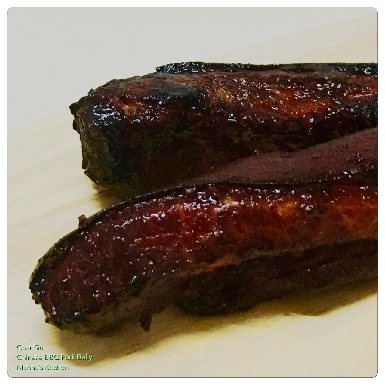 Char Siu (Chinese BBQ Pork Belly) | Marina's Kitchen