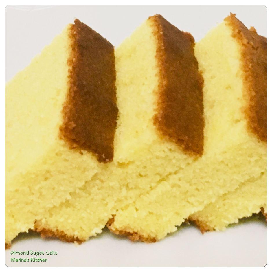 Almond Sugee Cake 1