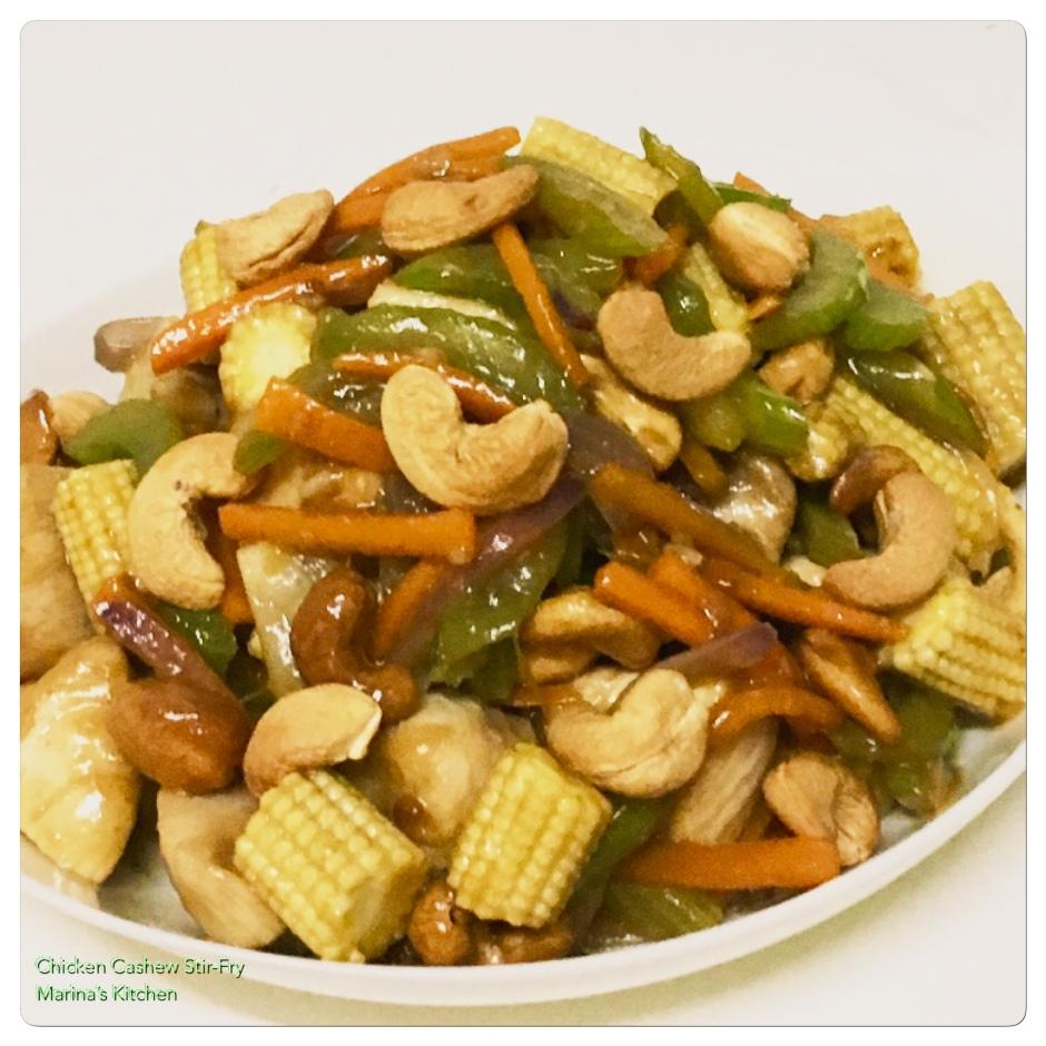 Chicken Cashew Stir-Fry
