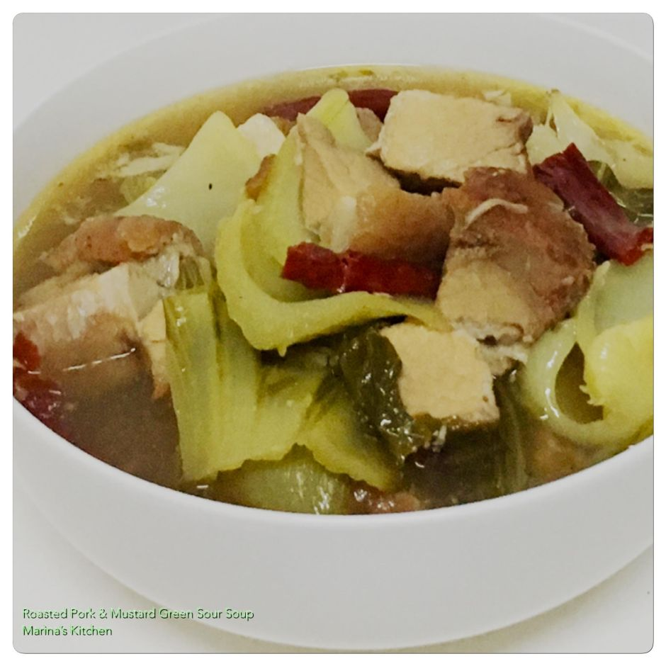 Roasted Pork & Mustard Green Sour Soup